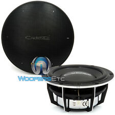 "2 CADENCE 5.25"" CAR AUDIO MIDRANGE SPEAKERS LOUD CLEAN PAIR & GRILLS  5 1/4"" NEW"