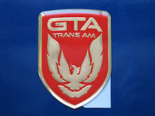 91-92 Pontiac Firebird Trans Am GTA Front Nose Badge (9 colors)