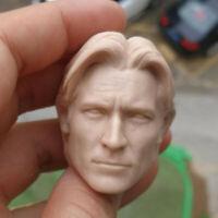 """1/6 Scale Nikolaj Coster Jaime Lannister Head Sculpt Unpainted Fit 12"""" Figure"""