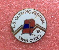 Pins US FESTIVAL TWIN CITIES '90 Jeux Olympique J.O JO OG O.G Olympic Games