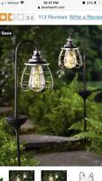 Solar Firefly Garden Light Lights Plow And Hearth