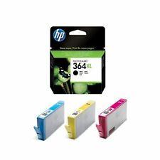 4 Genuine HP 364XL Multipack Inks for HP DeskJet 3520 3070A OfficeJet 4620 4622w