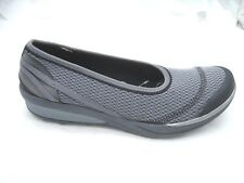 B Zees 11M Flawless gray black sneakers womens ladies ballet flats shoes