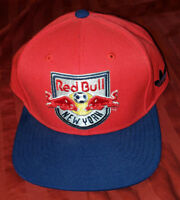 New York Red Bull Cap Adidas Snapback Hat Soccer MLS NY RARE HTF EUC  FOOTBALL 203153fc9ba7