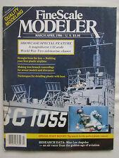 FINE SCALE MODELER 3/1986 BROWN B-2 MISS LOS ANGELES BOBA FETT US NAVY SUBCHASER