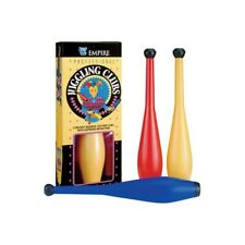 Juggling Clubs Set Professional 3 Magician Clown Practice Jesters Tricks Stage