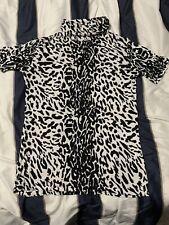 Joseph A Shirt Leopard Print