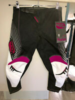 pantalon motocross MSR starlette rose taille 11/12 ans (Y26 US) valeur 76€