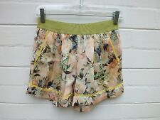 NEW TWINSET TWIN-SET SIMONA BARBIERI BEACHWEAR FLORAL SHORTS - XS