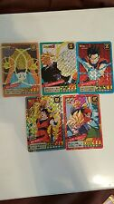 Dragon Ball Z super battle power level Carddass Double Prism lot