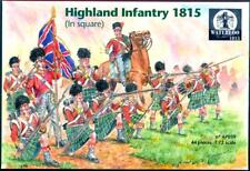 Waterloo 1815 Miniatures 1/72 HIGHLAND INFANTRY IN SQUARE 1815 Figure Set