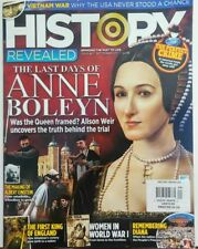 History Revealed UK September 2017 The Last Days of Anne Boleyn FREE SHIPPING sb