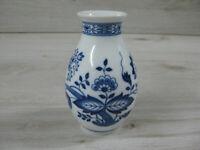 Hutschenreuther Maria Theresia Zwiebelmuster kleine Vase 12,0cm hoch