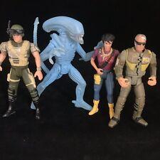 """Alien / Aliens Film 4.5"""" Action Figures Vintage Kenner 1992 Toy Bundle"""