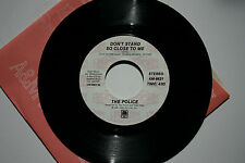 The Police - Don't Stand So Close To Me - NM - 45 RPM