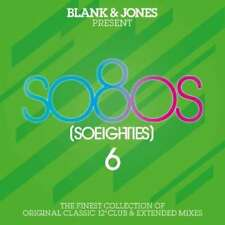 So80s (So Eighties) 6 3CD 2011 Blank & Jones CAMOUFLAGE New Order FALCO