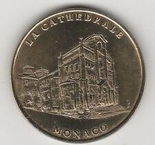 A 2000 TOKEN MEDAILLE SOUVENIR MDP -- MONACO N°1 LA CATHEDRALE