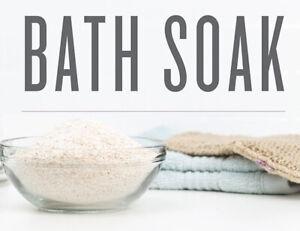 Oatmeal Bath Soak 20 lbs Choose from 30 Scents | Epsom Salt | Sea Salt | Oatmeal