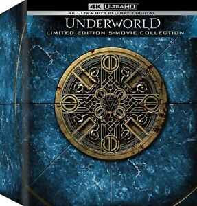 Underworld (5 movie collection)  ULTRA 4K HD Blu Ray - sealed