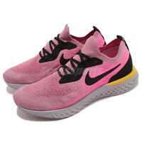 Nike Epic React Flyknit Plum Dust Pink Black Men Running Shoe Sneaker AQ0067-500