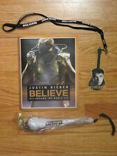 "2013 JUSTIN BIEBER ""Believe LIVE"" Concert Tour VIP Program Microphone Badge"