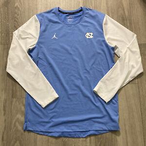 Nike Jordan UNC Tar Heels Dri-Fit Football Standard Fit Fleece (CU3687-419) Sz L