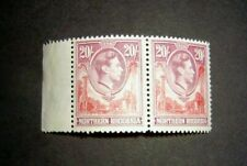 Northern Rhodesia  a Pair of 1938  SG45 20/-  MNH