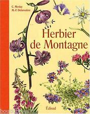 Beau livre -  Herbier de Montagne