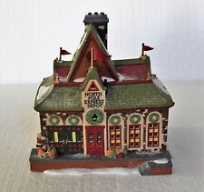 """Department 56, North Pole,""""North Pole Express Depot"""""""