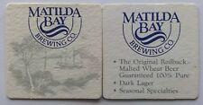 New listing Matilda Bay Brewing Co. Original Redback Malted Wheat Beer 2 x Coaster (B271-57)