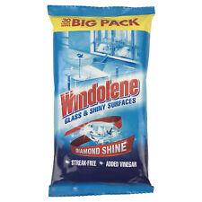 Windolene 4 Action Glass & Shiny Surface Wipes 30s X 6
