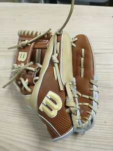 "2021 Wilson A2000 SC1786 11.5"" Spin Control SuperSkin Infield Glove lace broke"