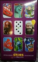 OFFICIAL DOMINO STARS COLLECTION FULL SET WITH CASE - WOOLWORTHS DISNEY/PIXAR