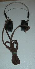 antique western electric switch board headphones