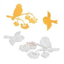 Metal Birds DIY Cutting Dies Stencil Scrapbook Album Paper Card Embossing Craft
