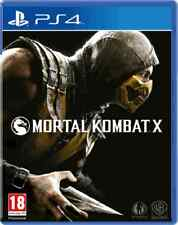 Mortal Kombat X  PS4 Brand New & Sealed Free Express Post