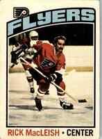 1976-77 O-Pee-Chee Rick MacLeish #121