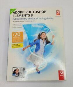 Adobe Photoshop Elements 8 2009.New, Sealed