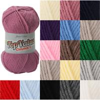 James C Brett 100g Ball Top Value Chunky Yarn Knitting Crochet Craft
