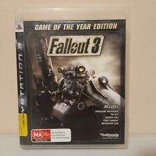Fallout 3 Game of the Year Edition Playstation 3 PS3 Game PAL