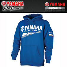 NEW X-LARGE SPECIAL EDITION YAMAHA RACING HOODED SWEATSHIRT CRP-14FRC-BL-XL
