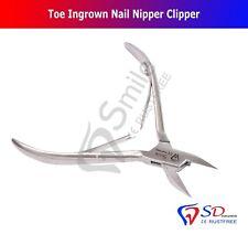 Clavo del dedo del pie encarnada Nipper Clipper Podología podólogos completamente esterilizable en autoclave Reino Unido Nuevo