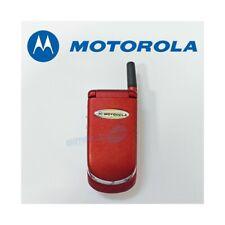 Phone Mobile Phone Motorola V998 + Red Gsm Dual Band Refurbished