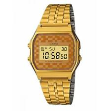 Unisex Watch CASIO A-159WGEA-9A Steel Golden Gold Classic Vintage Coloured