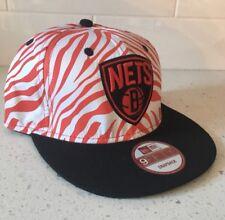 BROOKLYN NETS SnapBack Hat - NBA Basketball Adjustable Cap