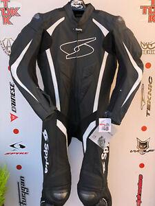 Spyke Blaster one Piece race leathers with hump uk 44 euro 54