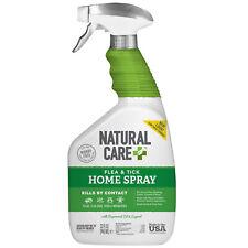 Natural Care Flea & Tick 32 oz Indoor Outdoor Home Spray For Pet Dog Cat Bedding