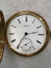 Vacheron Constantin Pocket Watch With Original Bill Of Sale 1874