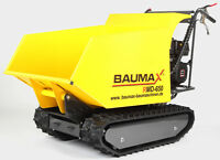 Raupendumper BAUMAX RMD650 Kettendumper Minidumper Dumper Motorschubkarre