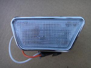 New GM Interior Lamps w/Chrome Trim & wiring -Pair-